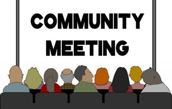 INFORMATION FROM COMMUNITY MEETING ON 10/30/18
